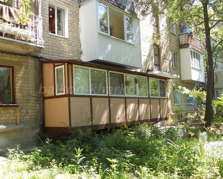 Пристройка балконов