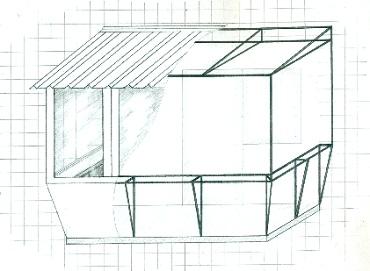 реконструкция каркаса на балконе