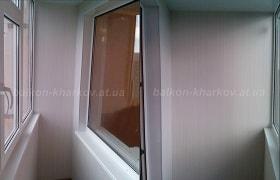 Дизайн косого балкона