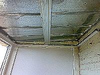 каркасная крыша