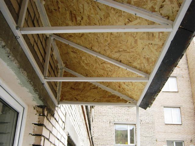 Модульная крыша с подкладкой OSB