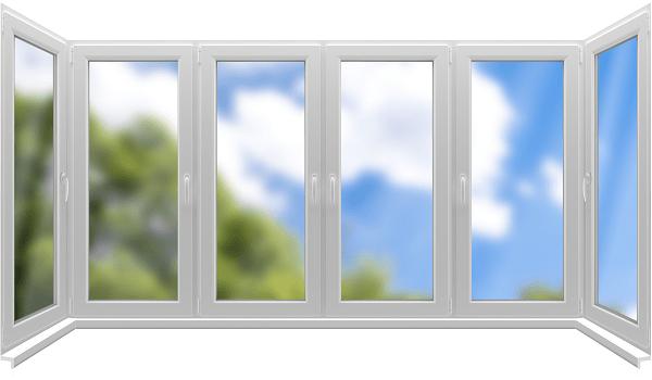 Картинки по запросу Варианты остекления балконов рамами ПВХ