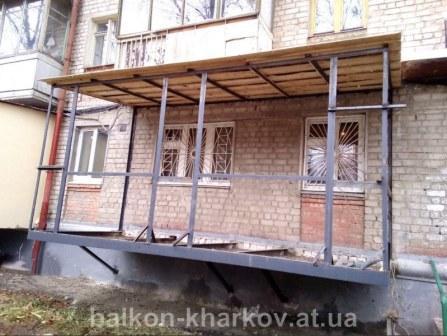 Как узаконить балкон на первом этаже харьков