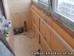 недорого утеплить балкон в Харькове